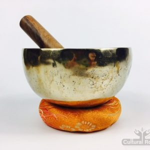 "6"" (Sacral Chakra) Traditional Hand Made Tibetan Sound Healing Singing Bowl - 0.64kg"