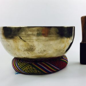 "10"" (Multi Chakra) Traditional Hand Made Tibetan Sound Healing Singing Bowl - 1.85 kg ॐ"