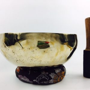"11"" (3rd Eye Chakra) Traditional Hand Made Tibetan Sound Healing Singing Bowl - 2.1 kg ॐ"