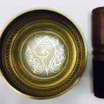 """4"""" – STUNNING CARVED BRONZE MIX NEPALESE SINGING BOWL – Made In Nepal"""