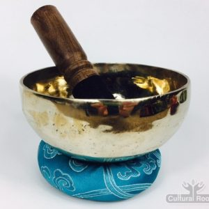"5"" (Third Eye) Traditional Hand Made Tibetan Sound Healing Singing Bowl - 490g"