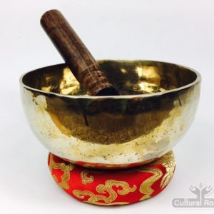 "6"" (Root Chakra) Traditional Hand Made Tibetan Sound Healing Singing Bowl - 670g"