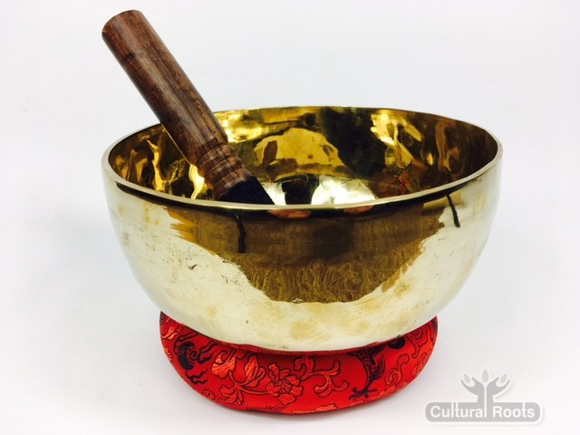 "7"" (Root Chakra) Traditional Hand Made Tibetan Sound Healing Singing Bowl - 910g"
