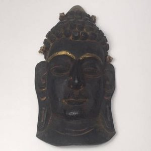 CultualRoots_Beautiful Vintage Hand Crafted Buddha Mask Himalayan folk Art _VC11_1