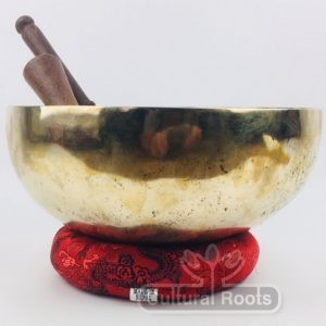 "10"" (Root / Heart Chakra) Traditional Hand Made Tibetan Sound Healing Singing Bowl - 1.9kg ॐ"