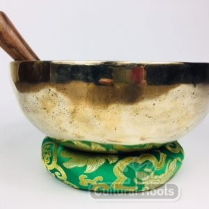 "9"" (Sacral & Throat Chakra) Traditional Hand Made Tibetan Sound Healing Singing Bowl - 1.61 kg ॐ"