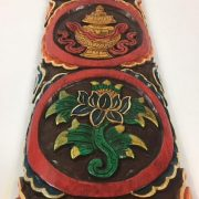 cultural_roots_Tibetan Wood Craft Wall Hanging - Hand Carved And Painted_3