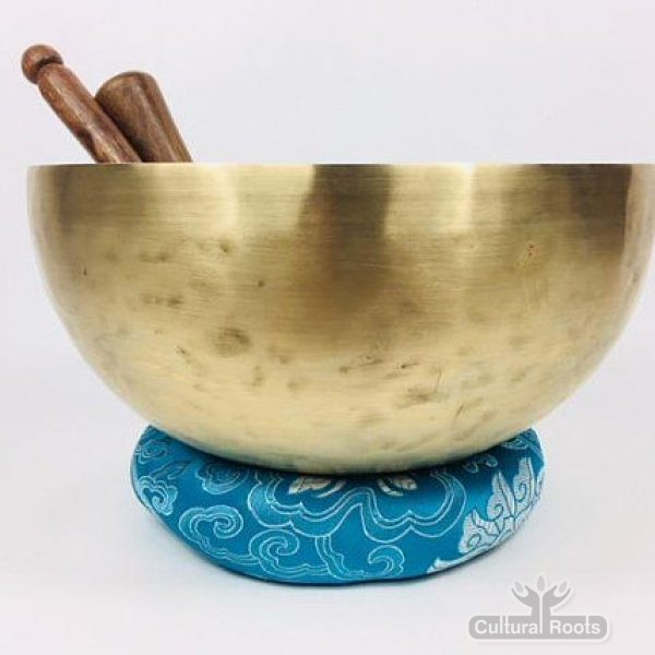 "10"" (107 hz A2) Cultural Roots 7 Metal SOUND CRAFT Singing Bowl - 1.65 KG_1"