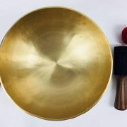 "10"" (107hz A2 / 129 hz C3) Cultural Roots 7 Metal SOUND CRAFT Singing Bowl - 1.82 KG"
