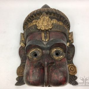 Beautiful Vintage Hand Crafted Hanuman Mask Himalayan folk Art ॐ