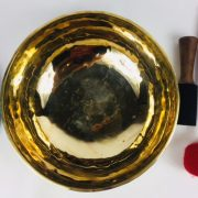 "12"" (3rd Eye Chakra) Traditional Hand Made Polished Tibetan Sound Healing Singing Bowl - 2.85 kg"