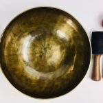 """10 1/2"""" (Heart Chakra) Hand Made Moon Bowl Sound Therapy Singing Bowl - 1.78 kg ॐ"""